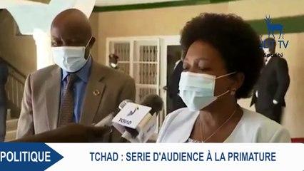 Séries d'audiences à la primature du Tchad