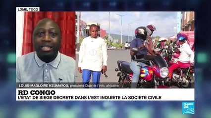 """RD Congo/état de siège dans l'Est: """"Cela fait plus de 25 ans que cette région est meurtrie"""""""