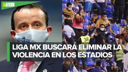Mikel Arriola habla sobre peleas en estadios, asegura que la Liga Mx no es instancia policiaca