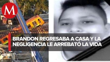 Identifican a Brandon Giovanny, menor de 12 años, entre muertos tras desplome de L12