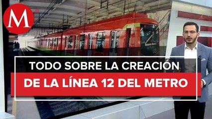 ¿Cómo se creó la línea 12 del metro de la Ciudad de México_