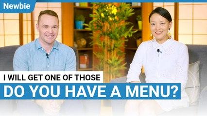 Do You Have A Menu? | Newbie Lesson | ChinesePod