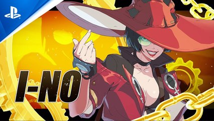Guilty Gear -Strive - I-no Character Reveal Trailer - PS5 , PS4