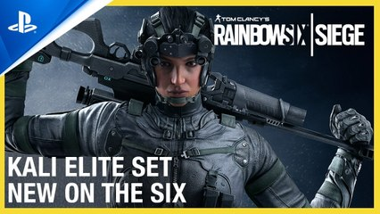 Rainbow Six Siege - New on the Six- Kali Elite Set - PS4