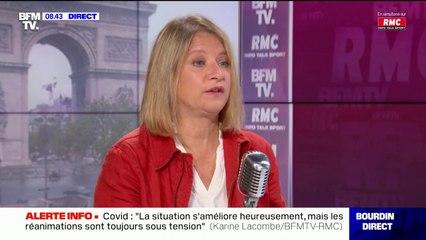 L'infectiologue Karine Lacombe appelle à élargir la vaccination avec AstraZeneca à tous les Français majeurs