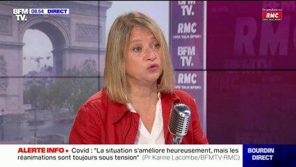 """Covid-19: Karine Lacombe estime que le comprimé testé par Pfizer est pour l'heure """"un coup médiatique"""""""