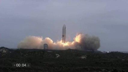 Aterrizaje perfecto de la nave de Space X