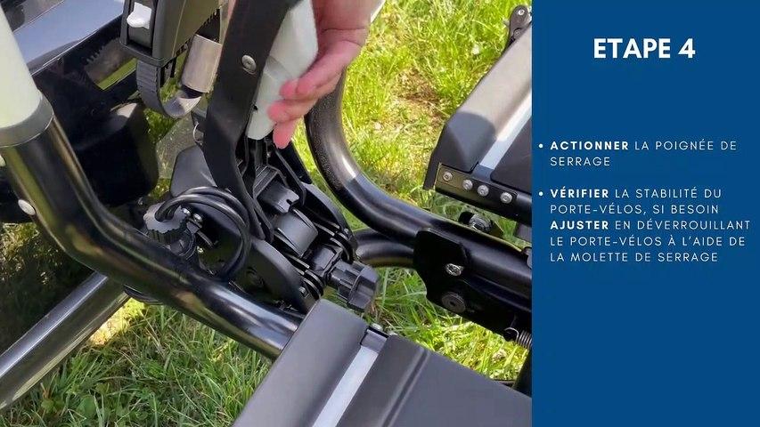 Montage et démontage du porte-vélos ATERA GENIO PRO