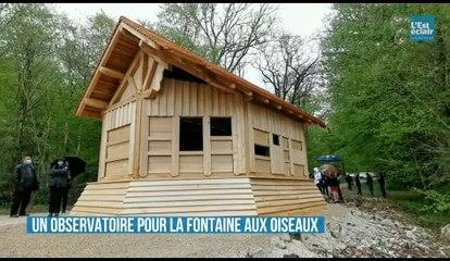 Un observatoire pour la Fontaine aux oiseaux.
