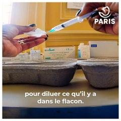 Campagne de vaccination, la série - Épisode 2 : la préparation des seringues