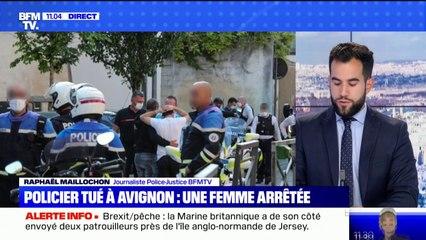 Policier tué à Avignon: une femme interpellée