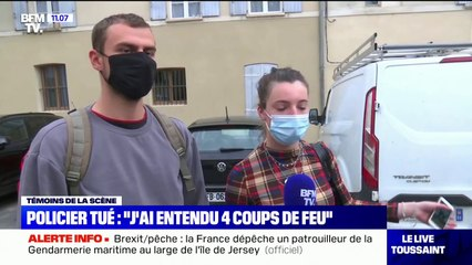 """Policier tué à Avignon: un témoin affirme avoir """"entendu quatre coups de feu"""""""