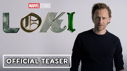 Marvel Studios' Loki - Official Teaser Trailer (Tom Hiddleston)