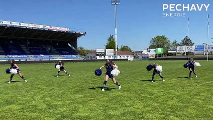 La chorée des Pech'Girls d'Agen Rugby !