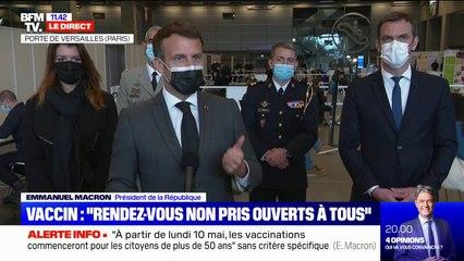 """Emmanuel Macron sur la levée des brevets: """"Nous devons faire de ce vaccin un bien public mondial"""""""