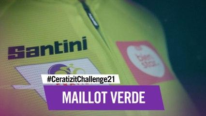 Maillot Verde   Santini x CERATIZIT Challenge 21