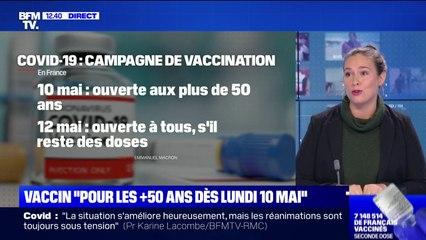 10 mai, 12 mai... Les annonces d'Emmanuel Macron sur l'ouverture de la vaccination
