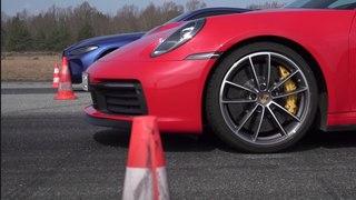 VÍDEO: Porsche 911 Carrera S vs BMW M4 Competition 2021, ¿cuál acelera más?