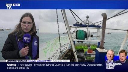 Brexit: une cinquantaine de bateaux français manifestent contre les conditions de pêche imposées par Jersey
