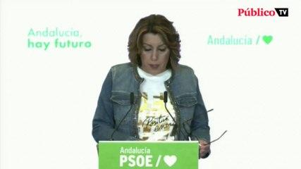Susana Díaz anuncia que se presentará a las primarias del PSOE andaluz