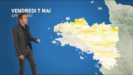 Illustration de l'actualité Bulletin météo pour le vendredi 7 mai  2021