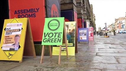 البريطانيون يتوجهون إلى صناديق الإقتراع لتحديد مصيرإسكتلندا