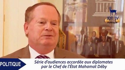 MAHAMAT DEBY rencontre les diplomates au Tchad