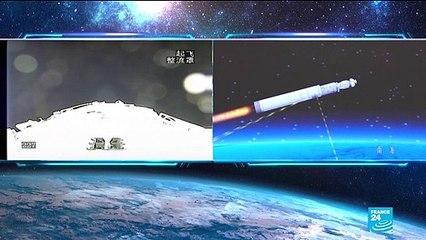 Conquête spatiale : une fusée chinoise menace de retomber sur terre