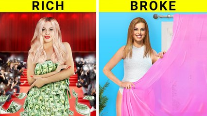 Rich Girl vs Broke Girl by troom troom