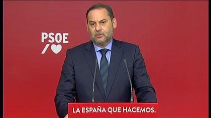"""Ábalos desea """"una pronta recuperación"""" a Ángel Gabilondo tras ser ingresado por un problema cardíaco"""