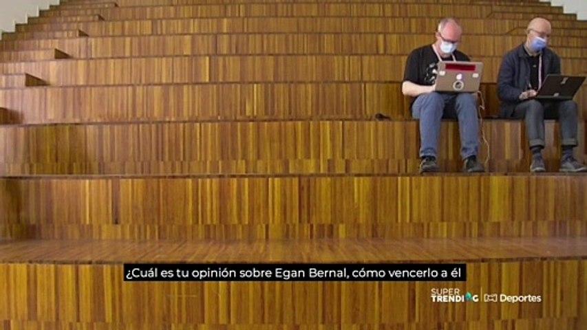 Romain Bardet analiza a Egan Bernal para el Giro de Italia