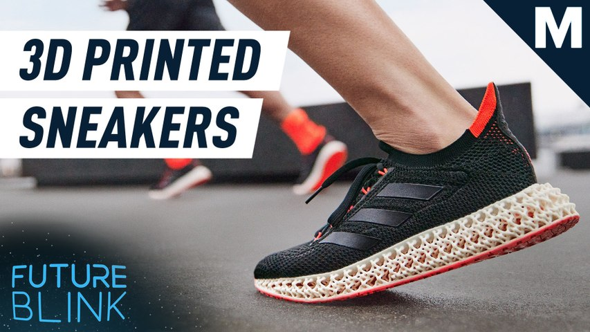 17 years of athlete data went into Adidas' 3D printed shoes — Future Blink