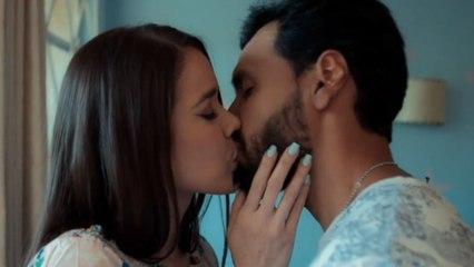 Azucena y Maximiliano viven un romántico momento