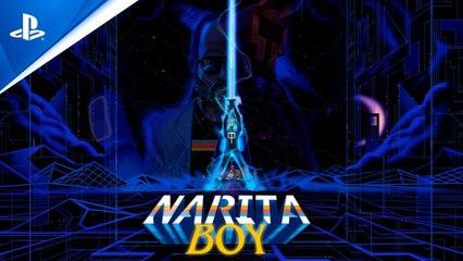 Narita Boy - Release Date Trailer - PS4