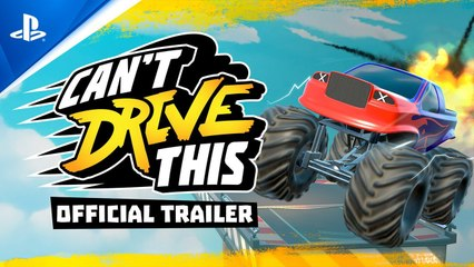 Can't Drive This – Official Trailer - PS5, PS4
