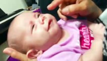 Funny baby videos try not to laugh impossible  funny 2021