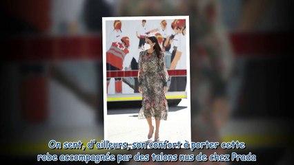 Letizia d'Espagne toute en transparence - son look printanier signé Zara fait sensation