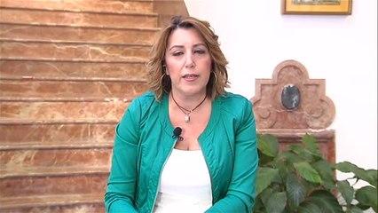 """Susana Díaz: """"El ruido de los órganos del partido no me va a distraer"""""""