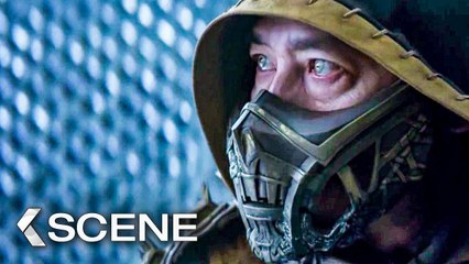 Sub-Zero vs Scorpion Fight Scene - MORTAL KOMBAT (2021)