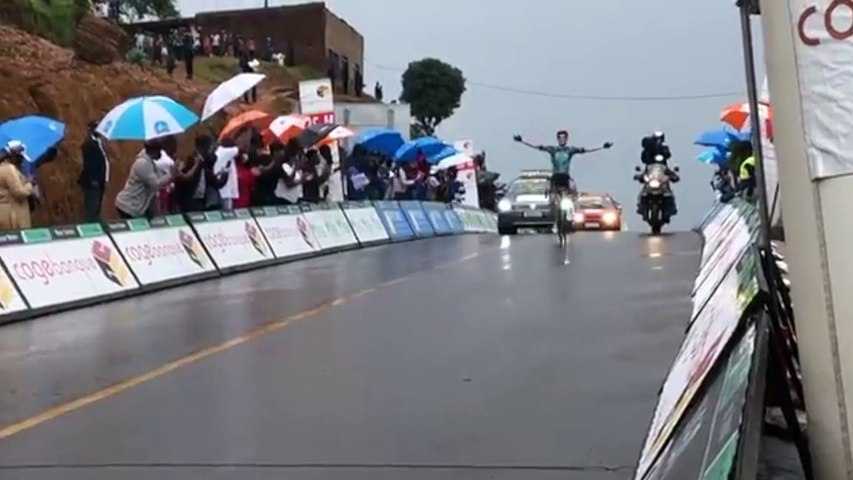 Cycling - Tour of Rwanda 2021 - Pierre Rolland wins stage 6
