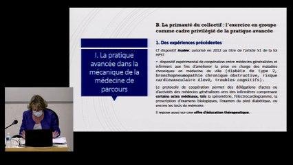 """""""Parcours et exercice en pratique avancée"""", Isabelle POIROT-MAZERES, Professeur de droit public, UT1, IMH_IMH_26-03-21_Le parcours du patient_07_I_PoirotMazere"""