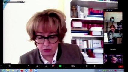 """""""Parcours et droits du patient"""", Marie-Laure MOQUET-ANGER, Professeur de droit public, Université Rennes 1, Présidente de l'AFDS_IMH_26-03-21_Le parcours du patient_08_ML_MoquetAnger"""