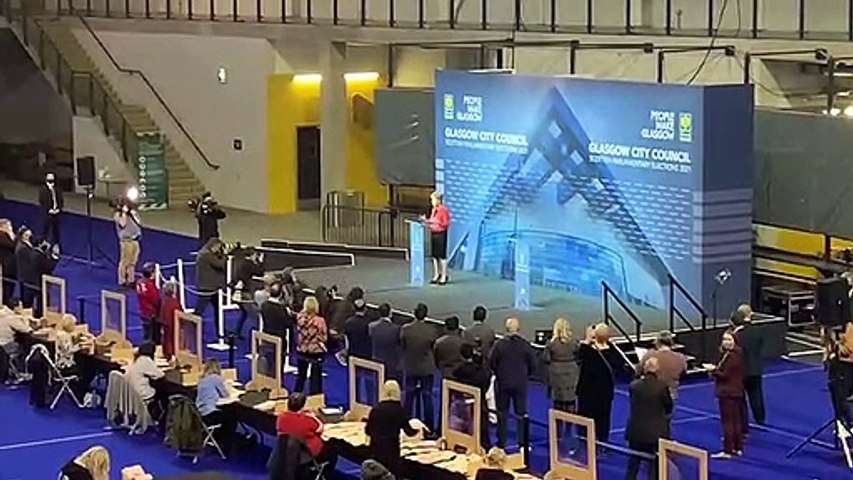 Nicola Sturgeon victory speech
