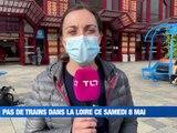 À la UNE : pas de trains dans la Loire ce samedi / Le Ciné Family se prépare à Saint Just-Saint Rambert / Match de gala pour les Verts, face à l'OM / Le témoignage fort d'un blessé de guerre ligérien. - Le JT - TL7, Télévision loire 7