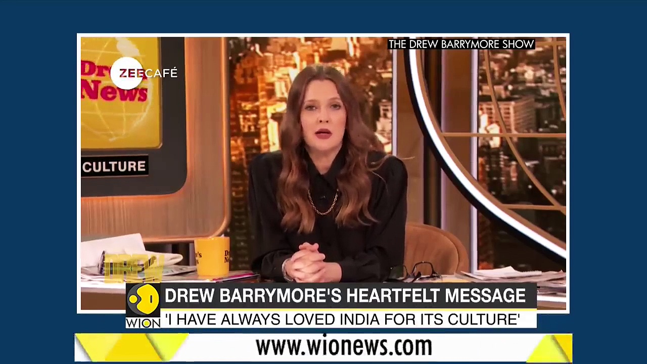 Coronavirus – Actress Drew Barrymore on India's COVID crisis _ Latest World English News _ WION News