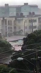 Tormenta local severa deja daños en varias zonas de Ciego de Ávila