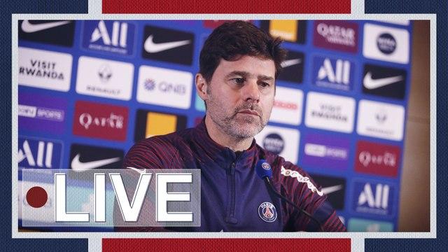 Replay : Conférence de presse de Mauricio Pochettino avant Stade Rennais FC - Paris Saint-Germain