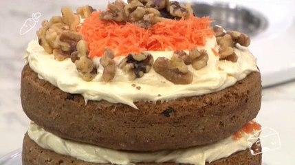 La Cocina del Cinco - Jugo Verde, Pastel de Zanahoria con Crema de Queso, Merienda Saludable