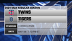Twins @ Tigers Game Preview for MAY 09 -  1:10 PM ET