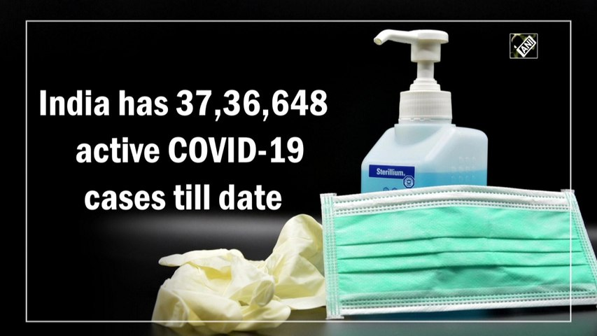India'sactive Covid-19 caseload surges over 37 lakh